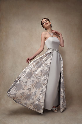 The Jacquard Skirt Gown