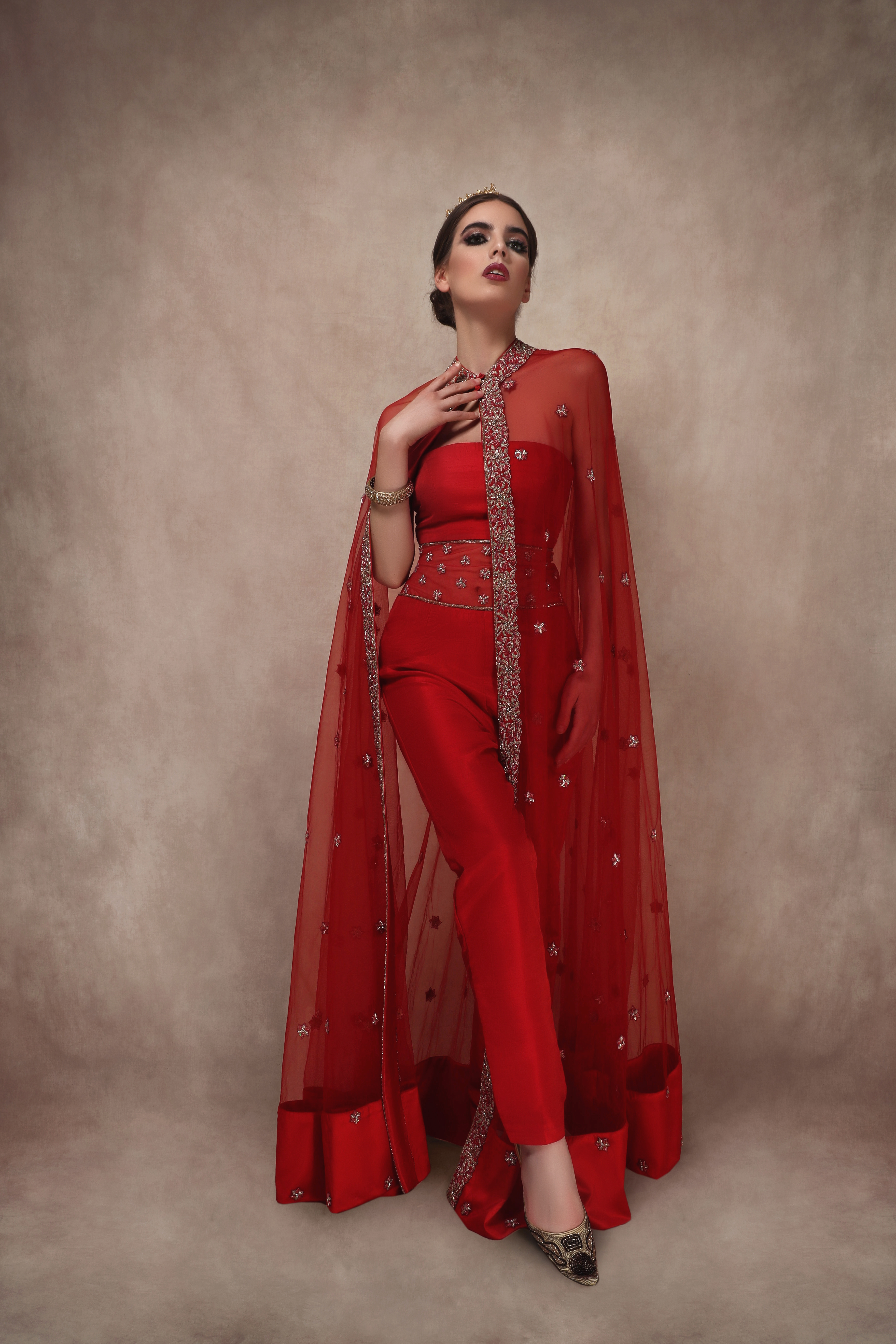 Regal Jumpsuit and Cape