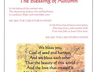 Autumn blessings!