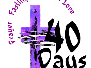 Day by Day Through Lent: Day Forty!