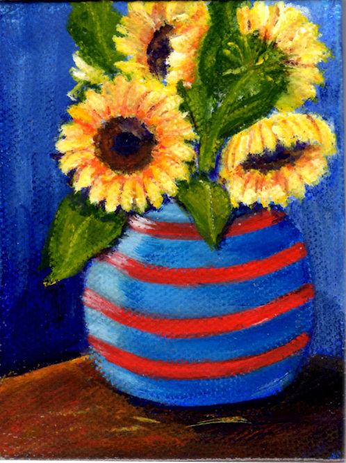 SF in Red-Blue Vase