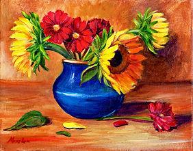 SunflowersBlueVase_Acrylic_8x10_517.jpg