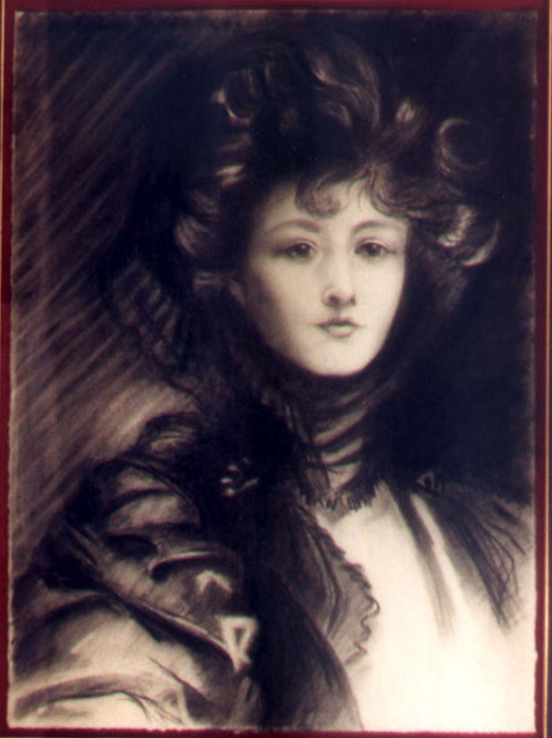 Victorian Woman (after John Singer Sargent)