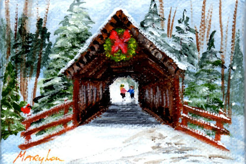 Snowy Covered Bridge #6