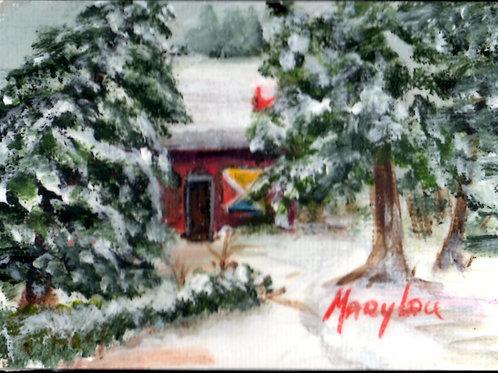 Winter Cabin #12