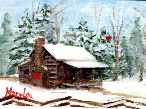 Winter Cabin #16