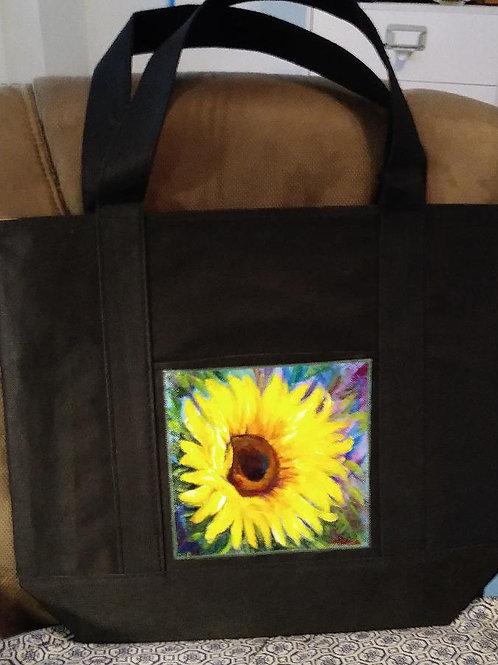 Colorful Sunfloweron Bag