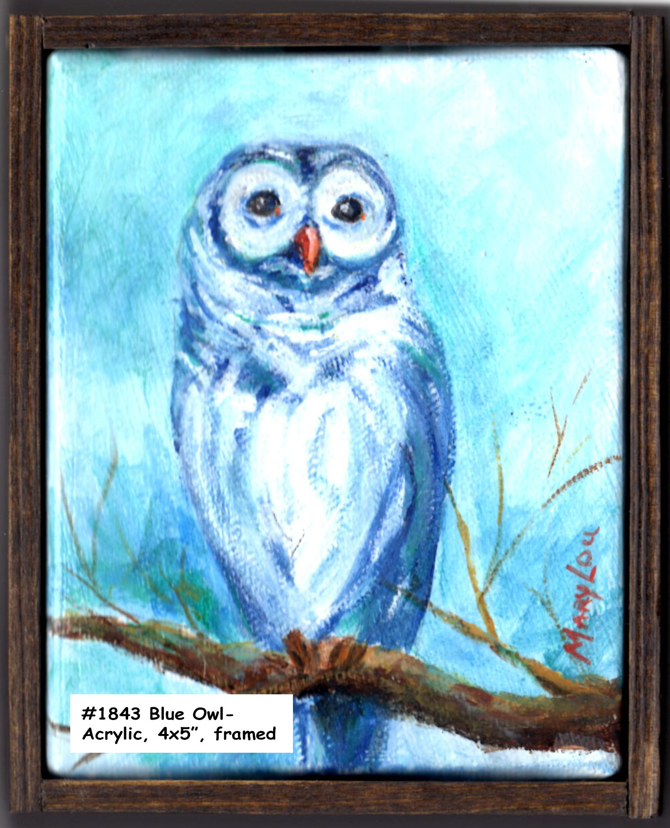 18-43-OwlInBlue-Acrylic-4x5in frame