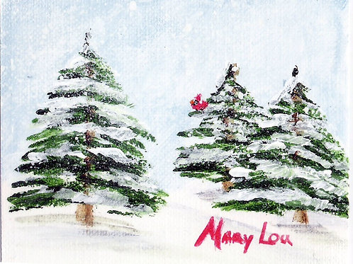 Winter Trees #135