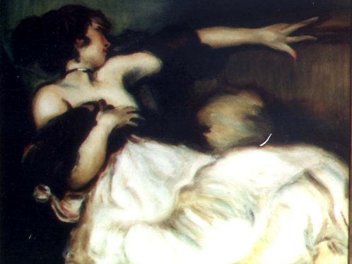 Reclining Woman (after Toussaint)
