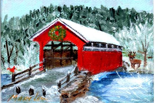Snowy Covered Bridge #8