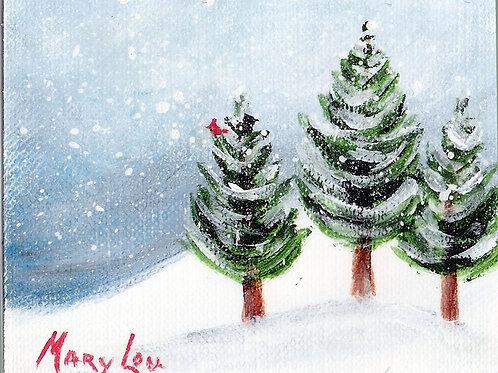 Winter Trees #1311