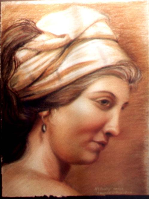 Woman In a Turban (after Guillard)