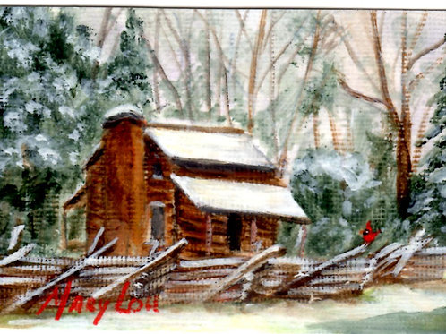Winter Cabin #15