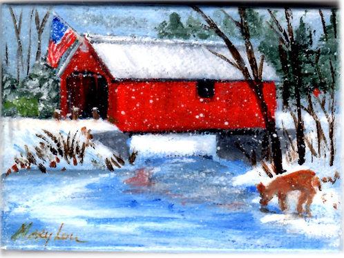 Snowy Covered Bridge #4
