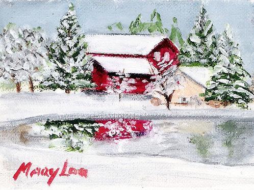 Winter Barn #5