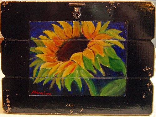 Sunflower On Easel  #4