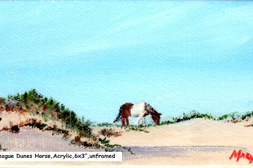 Chicoteague Island Dune Horse 2
