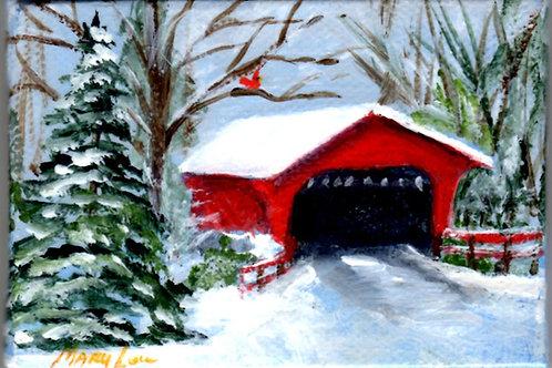 Snowy Covered Bridge #7