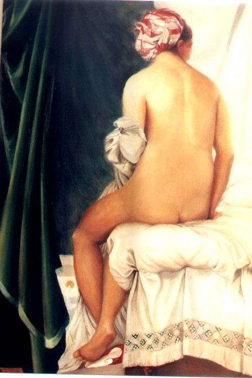 Bather  (after Ingres)