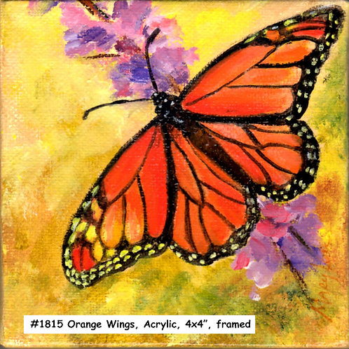 Orange Wings