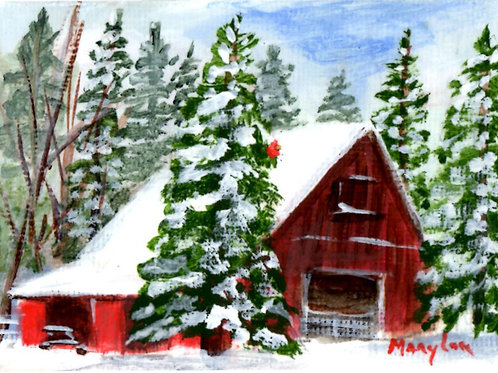 Winter Barn #16