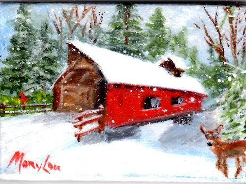Snowy Covered Bridge #2