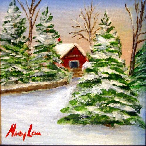 Winter Barn #1613