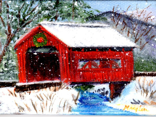 SnowyCovered Bridge #1