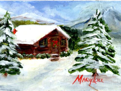 Winter Cabin  #18