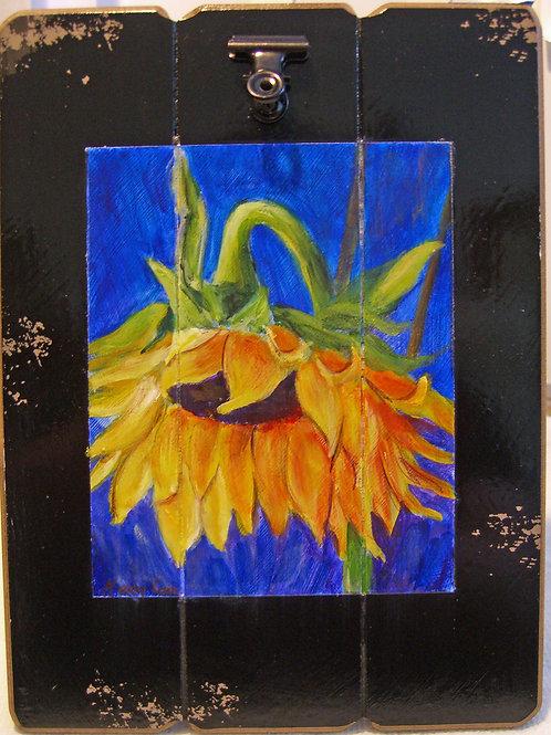 Sunflower On Easel  #6