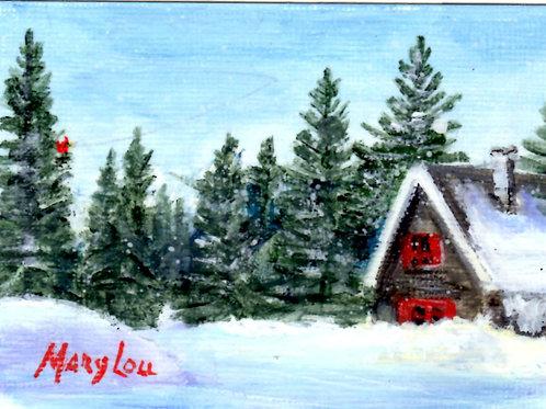 Winter Cabin #14