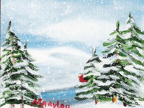 Winter Trees #131