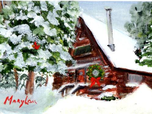 Winter Cabin #17