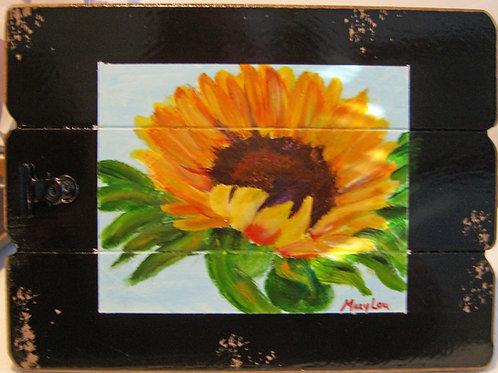 Sunflower On Easel  #5