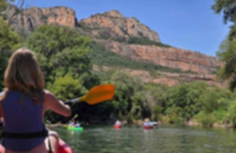 Canoe kayak provence var