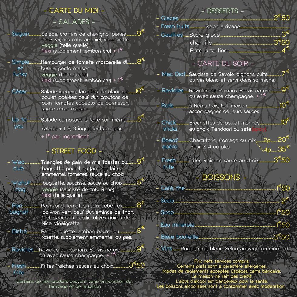 WAO-le-menu