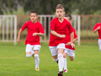 Wickham common vs Hawes Down School boys football match at Hawes Down school