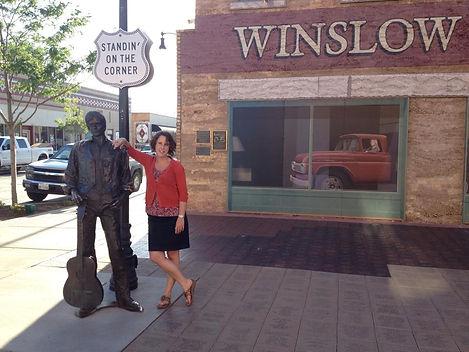 Christy standin' on the corner.jpg