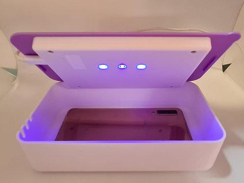 Caja Porta Celular Y Accesorios Mata Germenes Bacterias