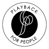Playback for People logo - transparent B