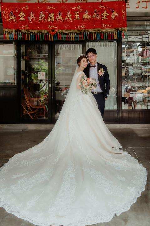楓凌小徑|婚禮紀錄|婚攝|儀式|峰&雯|板新彭園