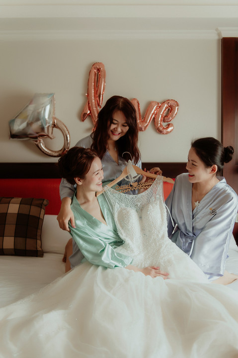 楓凌小徑|婚禮紀錄|婚攝|中壢古華|睡袍
