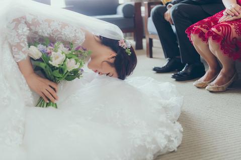 楓凌小徑|婚禮紀錄|婚攝|拜別|晶華酒店