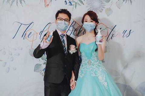 楓凌小徑|婚攝|婚禮紀錄|口罩|冰雪奇緣