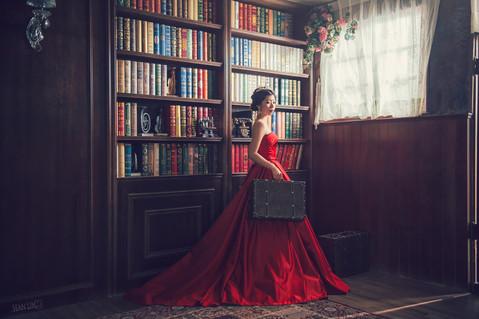 楓凌小徑|自主婚紗|棚內拍攝