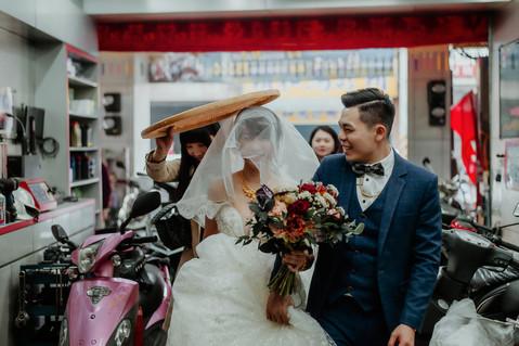 楓凌小徑|婚禮紀錄|婚攝|迎娶