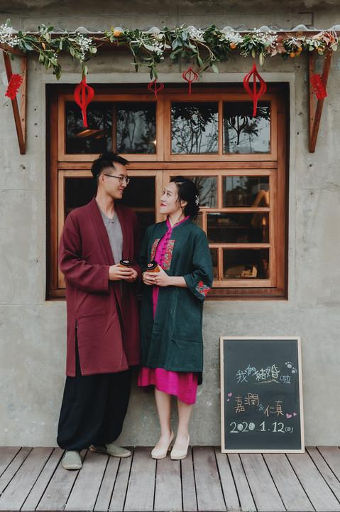 楓凌小徑|婚禮紀錄|婚攝|將軍村|潤&真