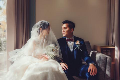楓凌小徑 婚禮紀錄 婚攝 掀頭紗 心之芳庭