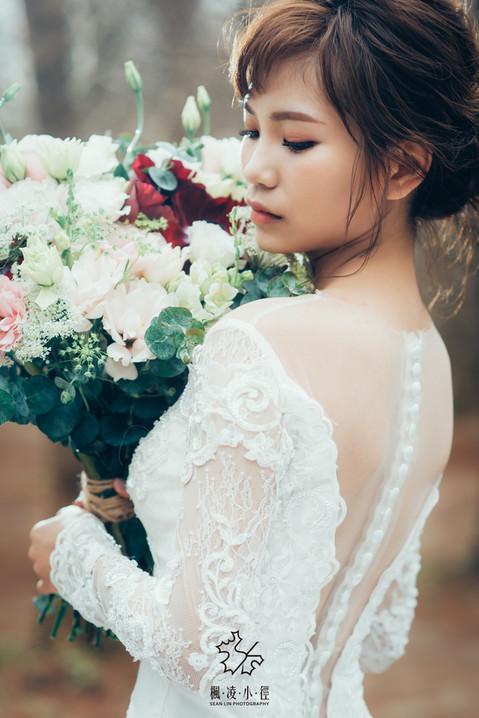 楓凌小徑|自助婚紗|個人婚紗|捧花